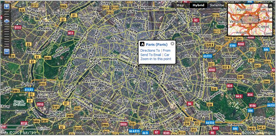 Map Yahoo on
